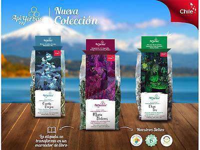 Infusión de hierbas medicinales deshidratadas